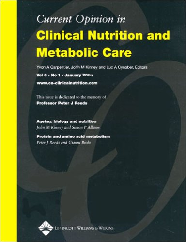 Clinical Nutrition and Metabolic Care Book