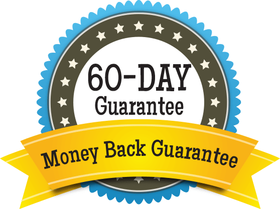 60-Day Guarantee - Money Back Guarantee